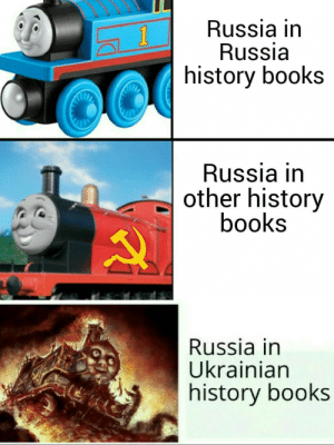 Books, History, and Russia: Russia in  Russia  history books  1  Russia in  other history  books  Russia in  Ukrainian  history books An interesting tittie