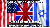 Israel warplanes hit airbase near Damascus: Syria state TV http://bit.ly/2hhGkJ9 #Israel #Syria: RUSSIA? IRAN? CHINA? NO  THESE ARE THE BIGGEST  THREATS TO WORLD PEACE  DAVIDICKE.COM Israel warplanes hit airbase near Damascus: Syria state TV http://bit.ly/2hhGkJ9 #Israel #Syria