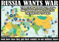Russia has right to defend against 'aggressive' NATO – Kremlin on Baltic missile placement http://bit.ly/2gKO72D #Russia: RUSSIA WANTS WAR  THERE IS NO RUSSIAN THREAT  ONLY PROPAGANDA TO JUSTIFY  THE BUILD-UP TO WW3  CHINA  IRAN  ALGERIA  LIBYA  NIGER  SUDAN  DAVIDICKE.COM  look how close they put their country to our military bases Russia has right to defend against 'aggressive' NATO – Kremlin on Baltic missile placement http://bit.ly/2gKO72D #Russia