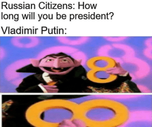 lolwtfmemes:Chicken tikka masala recipe: Russian Citizens: How  long will you be president?  Vladimir Putin: lolwtfmemes:Chicken tikka masala recipe