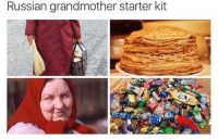 Starter Kit, Russian, and Slavic: Russian grandmother starter kit