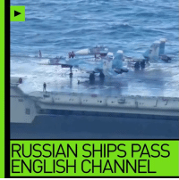 "Head, Memes, and Navy: RUSSIAN SHIPS PASS  ENGLISH CHANNEL A convoy of Russian warships heading for the Mediterranean is sailing down the English Channel - ""marked every inch of the way"" by the Royal Navy."