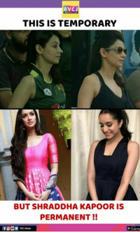 Crush 😘💝💕: RVCJ  THIS IS TEMPORARY  BUT SHRADDHA KAPOOR IS  PERMANENT!!  RVC Med Crush 😘💝💕