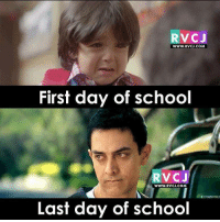 School life.. rvcjinsta: RVCJ  WWW.RVCU.COM  First day of school  RVC  J  WWW. RVCJ.COM  Last day of school School life.. rvcjinsta