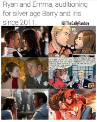 I'm down with it. LaLa Land is amazing btw⚡️🎵 Via: @thedailyfanboy ryangosling emmastone barryallen iriswest theflash flash westallen silverage dccomics wallywest flashpoint lalaland justiceleague: Ryan and Emma, auditioning  for silver age Barry and lris  since 2011  IG| TheDailyFanboy  WHAT  /RELAX, IRIS. I GOT THE  HE FLAGN CAUGHT THE MAN WHOLE STORY FROM THE  ESPONSIBLE FOR THE MYS- FLASH! ELL FILL YOU IN  TERIOUS BANK THEFTS  HAVE TO GET THE STORY  N THE DE TAIL-  FOR MY PAPER I'm down with it. LaLa Land is amazing btw⚡️🎵 Via: @thedailyfanboy ryangosling emmastone barryallen iriswest theflash flash westallen silverage dccomics wallywest flashpoint lalaland justiceleague