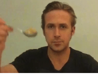 Ryan Gosling finally eats his cereal as a tribute after viral Vine star Ryan McHenry dies of cancer.: Ryan Gosling finally eats his cereal as a tribute after viral Vine star Ryan McHenry dies of cancer.