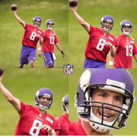 Why does Sam Bradford's game face look like he just got kicked in the nuts?: RYT  NFL Why does Sam Bradford's game face look like he just got kicked in the nuts?