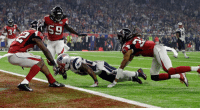 New England @patriots' James White gets into the end zone for a touchdown during the second half of SuperBowl 51 against the @AtlantaFalcons (AP Photo-David J. Phillip): rz  34  59 New England @patriots' James White gets into the end zone for a touchdown during the second half of SuperBowl 51 against the @AtlantaFalcons (AP Photo-David J. Phillip)