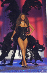 But if we gonna talk about Victoria Secret legends... let's remember one name, Tyra: S®  a But if we gonna talk about Victoria Secret legends... let's remember one name, Tyra
