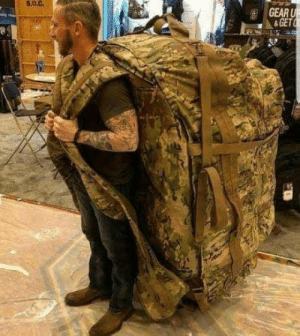 Level 3 Backpack be Like: s.0.0.  GEAR  & GET Level 3 Backpack be Like