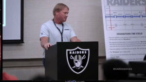 Jon Gruden to Antonio Brown, after he filed his 2nd helmet grievance with the NFL https://t.co/nAyzDX832y: ('S)  ARY  MEDLE  SPLIT  SPLIT  LINE  WRARS  UNDERSTAND THE FIELD  Prom the din to bom of the mnber i 12 yanda e  call tha aea the Boundary  We parae the B ry i to t parts with he Rad Lin  hough he Red Line will non be pan on the fd  ptnt tt yo become lamii wh ite oca on the 1  From the sidai to Red La ia yarda We l ta e  yarda w  The Nambers  RAIDERS  Tm the p of the Numbw  amthe Split.  to a Hash s 10 yands wide  id a 6 yada wde hom hash t  #HARDKNOCKS  Toole Lito DhantomnDE Jon Gruden to Antonio Brown, after he filed his 2nd helmet grievance with the NFL https://t.co/nAyzDX832y