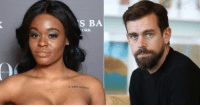 Beard, Gif, and Isis: S BA  ORK nzssa:  nicksand:  theblacktroymcclure: thats-tea:  Twitter CEO Jack Dorsey sent Beard Shavings to Azealia Banks so she could make him an Amulet to Protect him from ISIS.