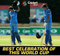 Memes, World Cup, and Best: S Cricket  Shots  BEST CELEBRATION OF  THIS WORLD CUP Awesome celebration by Harmanpreet Kaur.