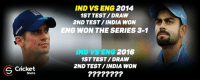 England, Memes, and Drawings: S Cricket  Shots  IND VS ENG  2014  1ST TEST/DRAW  2ND TEST/INDIA WON  ENG WON THE SERIES 3-1  IND SENG 2016  1ST TEST/DRAW  2ND TEST INDIA WON All hopes for team england !