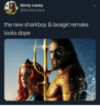 the adventures of sharkboy and lavagirl: s dorey casey  @doreycasey  the new sharkboy & lavagirl remake  looks dope