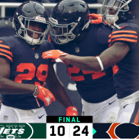 Memes, Nfl, and Jets: s.  FINAL  NFL  10 24  ETS FINAL: @ChicagoBears defeat the Jets! #NYJvsCHI  #DaBears https://t.co/DVRFA2L4qi