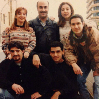 Lebanese, Adel, and Chi: S L CHI 1998 Adel looks really different