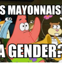 S MAYONNAISE  A GENDER