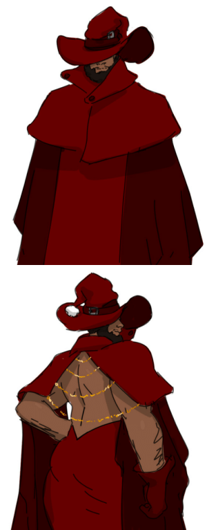 otherwindow:  otherwindow:  Concept: A typical baggy robed male mage but his behind is exposed like a modern backless dress.   : S otherwindow:  otherwindow:  Concept: A typical baggy robed male mage but his behind is exposed like a modern backless dress.