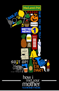 Memes, News, and Metro: s Pub  METRO  NEWS  TELEPHONE  MAYO  8  CODEI  BALLOT O  SUIT UP! EG  5  DARY  how i  met,vour  mother  YASMINWITHANE #HIMYM https://t.co/gfZCdqQ6Ld