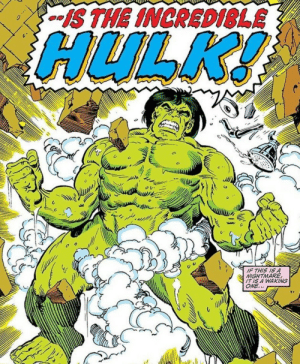 Hulk need pants!: S THE INCRED1SLE  HULK!  IF THIS IS A  NIGHTMARE  IT IS A WAKING  ONE... Hulk need pants!