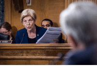 """Dank, Elizabeth Warren, and Martin: S WARREN Politicians like Sen. Elizabeth Warren like to roar like a lion when they have someone like Wells Fargo CEO John Stumpf on the witness stand. Why is it they purr like little kittens when it comes to fraud and abuse infinitely greater than that committed by Wells Fargo? I am talking about the Federal Reserve, whose representatives get """"thanked for their service"""" by the likes of Sen. Warren instead of hounded for their misdeeds. Tune in to today's Liberty Report with my former Financial Services Committee aide in Congress, Paul-Martin Foss as special guest:  Wells Fargo Scandal - Is The Fed The Solution? https://youtu.be/GeJ4prxx5t0"""