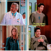 + Ross is so cute 😂😅 - tag friends and follow @friendshqfeed for more: S09E03  Do you even  Would you like a lolipop?  have to ask?  FRIENDSHQFEED  ON INSTAGRAM + Ross is so cute 😂😅 - tag friends and follow @friendshqfeed for more