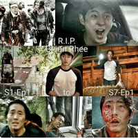 """Glenn Rhee is our Day One. He entered the show with """"Hey Dumbass!"""" Our favorite pizza boy, the voice a reason, the moral compass, and the heart of TWD. Steven is the best and your presence will surely be missed. .💔 ~Isis J.: S1 Ep  erin Rhee  to Glenn Rhee is our Day One. He entered the show with """"Hey Dumbass!"""" Our favorite pizza boy, the voice a reason, the moral compass, and the heart of TWD. Steven is the best and your presence will surely be missed. .💔 ~Isis J."""