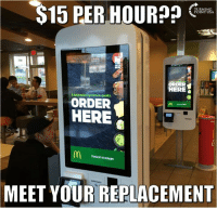 #BigGovSucks: S15 PER HOUR??  ORDER  HERE  bold new experience awaits.  ORDER  HERE  TOUCH START  TO MEET YOUR REPLACEMENT #BigGovSucks