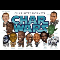 Char Wars! 😂😂 Who likes these NBA Posters? @sportmovieposters: cooy WAN KENOOI  P).02  CHARLOTTE HORNETS  PARCO  NOAH  HEN SOLO  SWARM TROOPERS  VON LEIA  STE-3PO  CHEWBACCAL Char Wars! 😂😂 Who likes these NBA Posters? @sportmovieposters