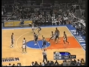 Marcus Camby tries to hit Danny Ferry with this knockout punch and accidentally headbutts Jeff Van Gundy. This was insane. https://t.co/ztygbOjDA5: SA  78 Marcus Camby tries to hit Danny Ferry with this knockout punch and accidentally headbutts Jeff Van Gundy. This was insane. https://t.co/ztygbOjDA5