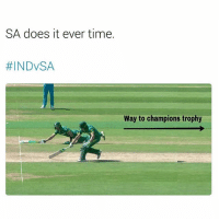 SA does it ever time.  #INDVSA  Way to champions trophy Chokers