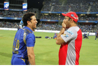 Funny, Memes, and Match: Sachin Tendulkar and Virender Sehwag before the match today  Give this pic a funny caption :D
