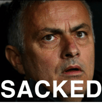 Memes, News, and Manchester United: SACKED Jose has been sacked as manager of Manchester United Follow @sportbible for more breaking sport news