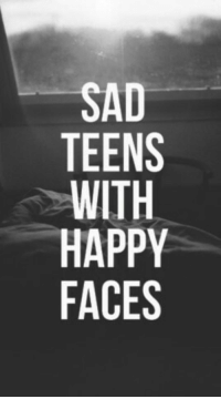 happy faces: SAD  TEENS  HAPPY  FACES