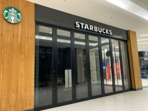 Sad to see the Starbucks in Sandton City, South Africa, closed along with all the other shops (except the grocery stores and pharmacy) during the nationwide lockdown. Looking forward to a time when we can all enjoy a coffee together again. ☕️: Sad to see the Starbucks in Sandton City, South Africa, closed along with all the other shops (except the grocery stores and pharmacy) during the nationwide lockdown. Looking forward to a time when we can all enjoy a coffee together again. ☕️