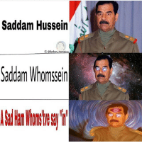 Memes, Saddam Hussein, and Atheism: Saddam Hussein  IG: Gdankery meme  Saddam Whomssein - - fractal underworld cosmos nebula galaxy planets awakened enlightened psychedelic philosophy scifi atheism atheist bushdid911 pendulum infantannihilator deathcore truthseeker 4chan illuminati robswire cyberpunk jetfuelcantmeltsteelbeams space nihilism communism capitalism conspiracy anonymous anarchy - Backup: @psychedelic.fountain.v2 -