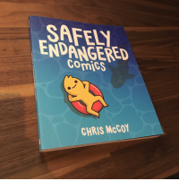 Amazon, Hello, and Memes: SAFEL  ENDANGERED  Comigs  CHRIS McCO Hello readers! I began drawing Safely Endangered in 2012 and have since drawn over 500 of these silly comics. Last year, publisher @andrewsmcmeel got in touch with me about finally putting a book together! It's 143 pages and includes dozens of new exclusive comics. (You can swipe to check out a few classics that will be included in this collection!) Anyway, I'm really happy with how it turned out. Whether you've been with me since the start or only discovered my profile recently, I appreciate your comments, likes and all the support over the years. If you're interested in picking up a copy, it releases in April-May and you can find a pre-order link in my profile. If your country isn't listed, local bookstores or international postage from an Amazon site is probably your best bet. I'll also have copies for sale at various UK cons throughout the year! Cheers pals ~Chris