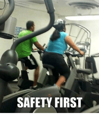 First, Safety First, and Safety: SAFETY FIRST <p>Nunca se sabe&hellip;<br/></p>