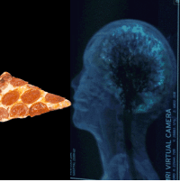 """Beautiful, Pizza, and Too Much: SAGITTAL  RI VIRTUAL CAMERA <p><a class=""""tumblr_blog"""" href=""""http://nightmareofsolomon.tumblr.com/post/27183819548/this-is-someone-dying-while-eating-a-slice-of"""">nightmareofsolomon</a>:</p><blockquote> <p>This is someone dying while eating a slice of pizza. When you eat pizza, you become very happy and your brain releases tons and tons of endorphins that make you feel amazing. But if you eat too much pizza, you can die from pizzalitous just like this person here. Tragically beautiful.</p> </blockquote>"""