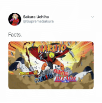 Anime, Facts, and Naruto: Sakura Uchiha  @SupremeSakura  Facts What's your favourite anime that's not naruto?