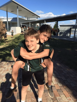 Back, Him, and One: SAL This is my friend (the one giving the piggy back), There is nothing wrong with him, I am just flexing that I have a friend...