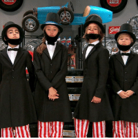 How well do you think the Quads pull off this AbeLincoln impersonation? 😁🎩 Suit up for an honest new NRDD at 8:30pm-7:30c!: SALE  SALE How well do you think the Quads pull off this AbeLincoln impersonation? 😁🎩 Suit up for an honest new NRDD at 8:30pm-7:30c!