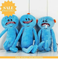 Memes, Rick and Morty, and Sorry: SALE  TODAY ONLY  FREE WORLD WIDE SHIPPING Hi, I'm Mr MeeSeeks Look At Me! Get All Your Tasks Done With The Help Of These Awesome MeeSeeks Dolls! The Quicker You Get Them Done The More Time You Have For Watching Rick And Morty! SALE Ends Today, Limited Stock So Grab Yours NOW! 👉@RickMortyMemes (Sorry Maximum 2 Per Person!)