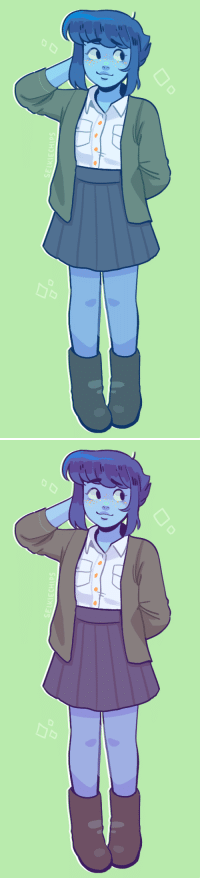 Target, Tumblr, and Blog: SalH,31>735   SELKIECHIPS selkiechips: lapis w/ gold freckles and casual wear is what i Live For