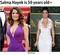 She found the Fountain of Youth!: Salma Hayek is 50 years olde  TalentA  Explore She found the Fountain of Youth!