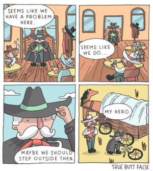 Saloon Trouble [OC]: Saloon Trouble [OC]