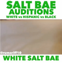 Apple, Jay, and Juice: SALT BAE  AUDITIONS  WHITE vs HISPANIC vs BLACK  @rumariff10  WHITE SALT BAE @Regrann from @rumariff10 - I wanna be your bae 😘🔪 ............btw thats apple juice 🙈@Dagenius_Jay33 Dagenius_Jay33 ( •_•) ∫\ \____( •_•) _∫∫ _∫∫ɯ \ \ dageniuscomedy jay funny reblog retweet follow follow followme followers follower nyc newyork queensnyc nycqueens nycbrooklyn followhim lmao comment comments commentbelow popular instagood iphonesia nyc instamood picoftheday bestoftheday