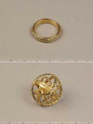 saltycaffeine:  16th century ring that unfolds into an astronomical sphereThis is called an armillary sphere ringLIMITED AVAILABILITY HERE: saltycaffeine:  16th century ring that unfolds into an astronomical sphereThis is called an armillary sphere ringLIMITED AVAILABILITY HERE