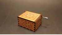 Family, Friends, and Gif: saltycaffeine:  Original hand crank Music Box, just turn the handle and it will play this well-known tune. Hum to the Harry Potter Theme song, Beauty and the Beast and Many more! No batteries Needed!  These music boxes makes a great gift for your friends and family!*USE CODE: MUSICAL FOR A DISCOUNT*= GET YOUR MUSIC BOX HERE =